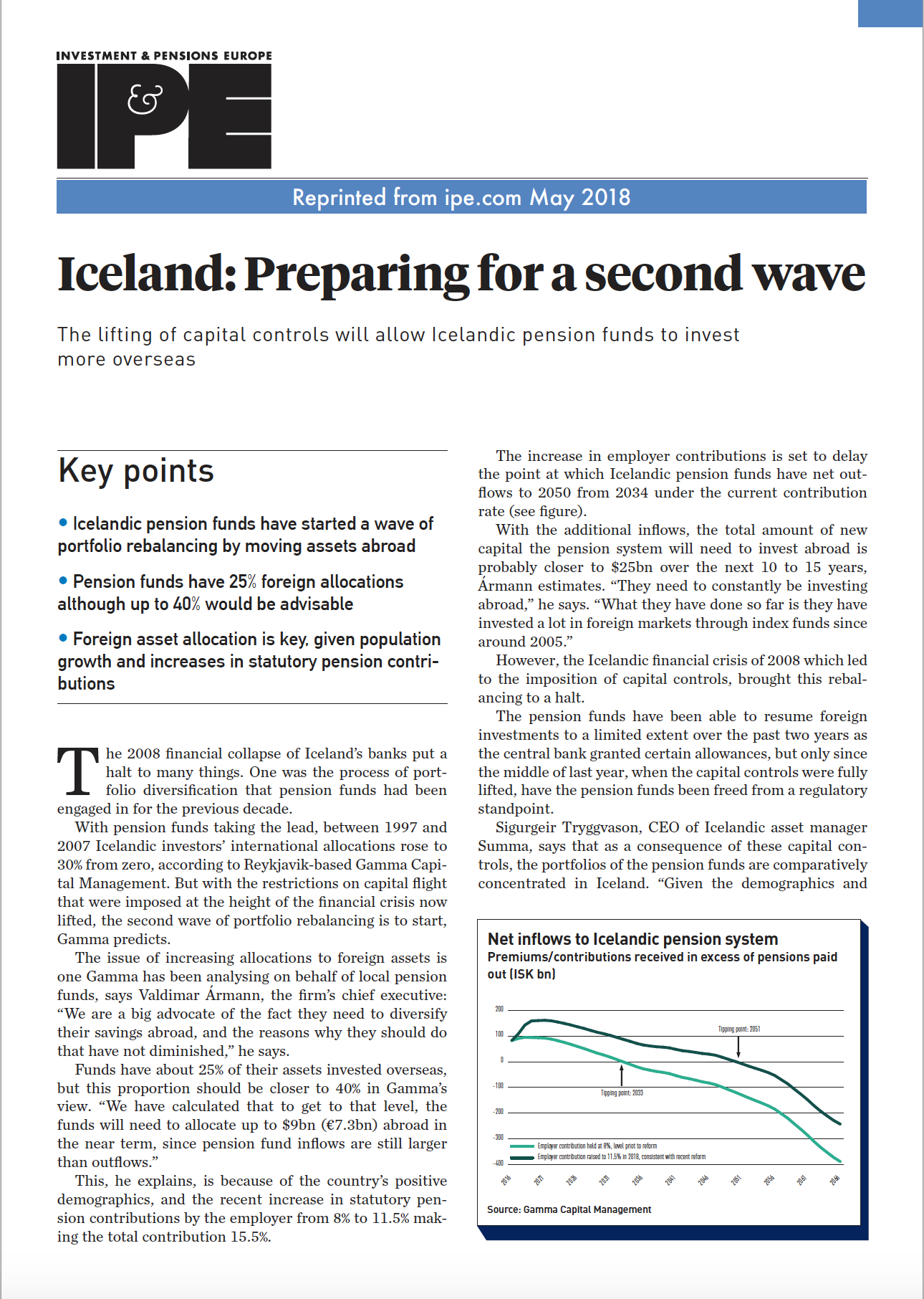 Ipe Iceland Preparing For A Second Wave
